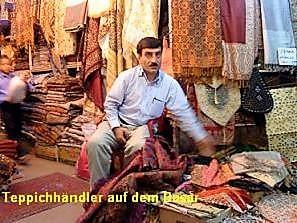 Teppichhändler  Urlaubsreise Iran 2009